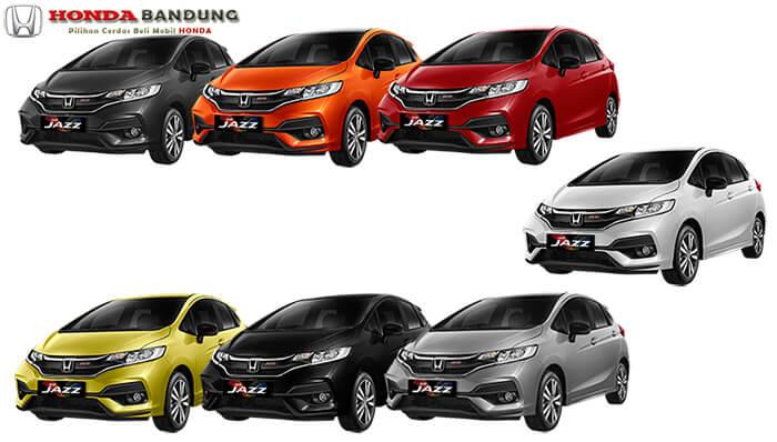 Pilihan Warna Honda Jazz