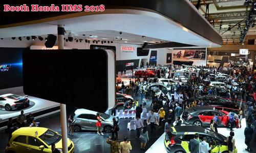 Booth-Honda-di-IIMS-2018