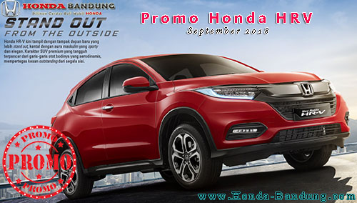 Promo Honda HRV September 2018