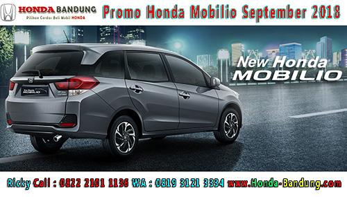 Promo Honda Mobilio September 2018