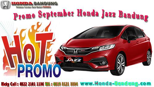 Promo September Honda Jazz Bandung