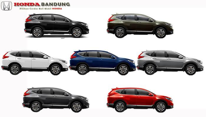 Pilihan Warna Honda CR-V