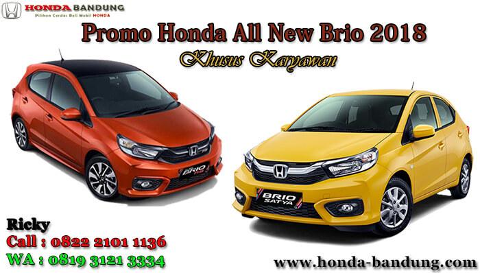 Promo Honda All New Brio 2018 Khusus Karyawan