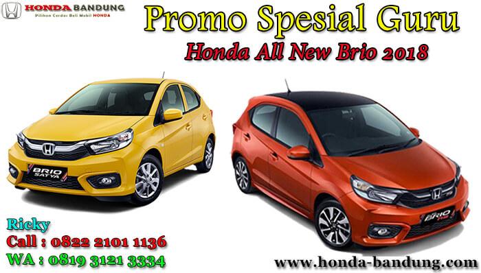 Promo Spesial Guru Honda All New Brio 2018