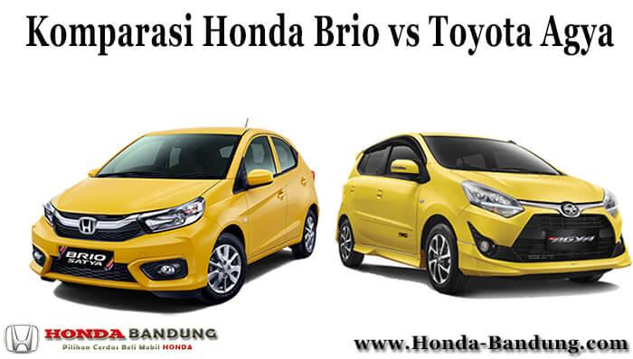 Komparasi Honda Brio vs Toyota Agya