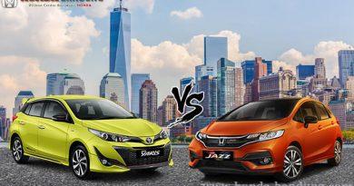 Komparasi Honda Jazz vs Toyota Yaris