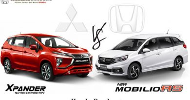 Komparasi Mobilio RS vs Xpander Ultimate