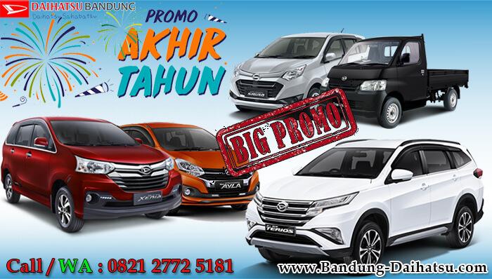 Promo Akhir Tahun 2018 Daihatsu Bandung