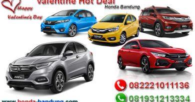 Valentine Hot Deal Honda Bandung 2019