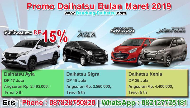 Promo Daihatsu Bulan Maret 2019