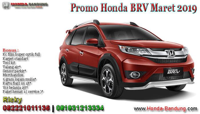 Promo Honda BRV Maret 2019