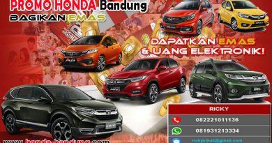 Promo Honda Bandung Bagikan Emas