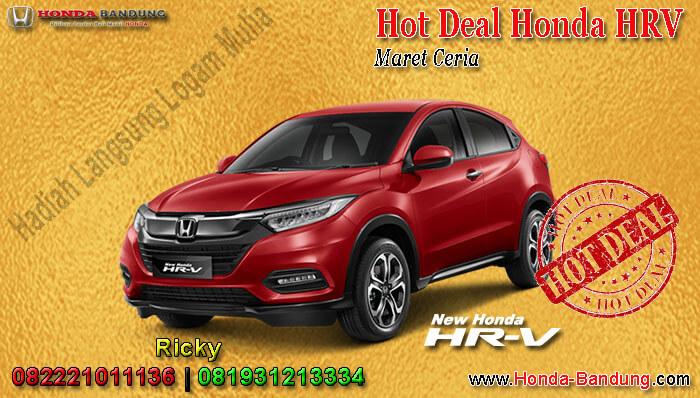 Promo Honda HRV Maret Ceria