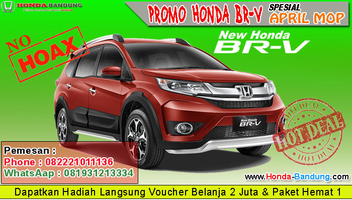 Promo Honda BRV April MOP
