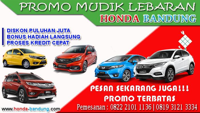 Promo Mudik Lebaran Honda Bandung