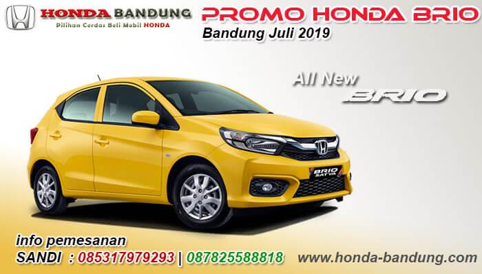 Promo Honda Brio Bandung Juli 2019