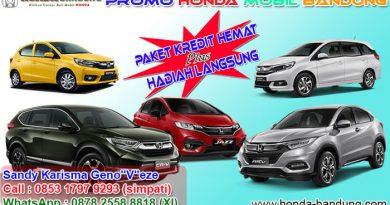 Promo Honda Mobil Bandung Terbaru