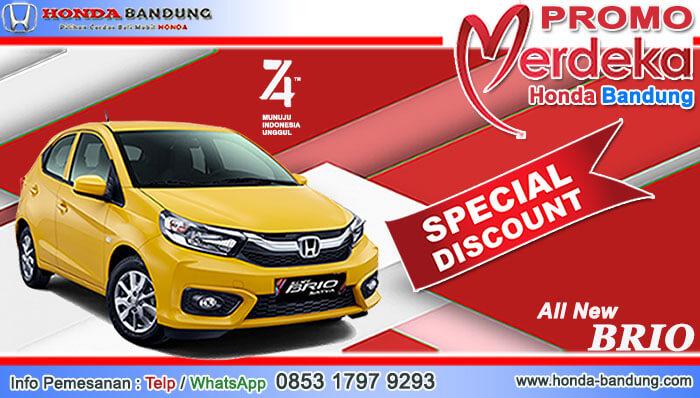 Promo Merdeka Honda Brio Bandung