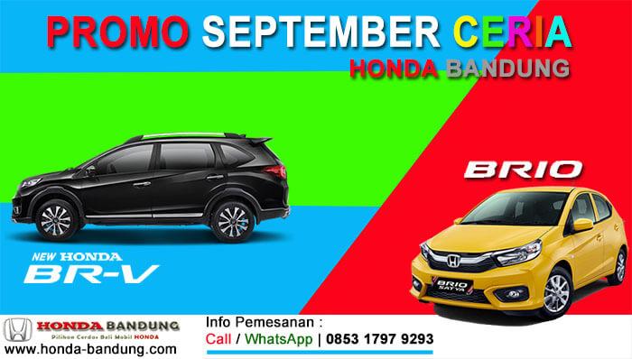 Promo September Ceria Honda Bandung 2019