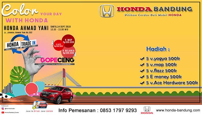 Promo September Honda Ahmadyani Bandung