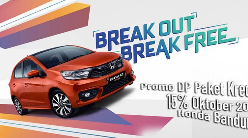 Promo DP Paket Kredit 15% Oktober 2019