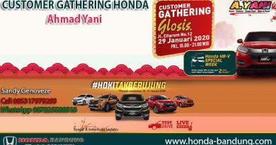 CUSTOMER GATHERING HONDA Ahmad Yani 2020
