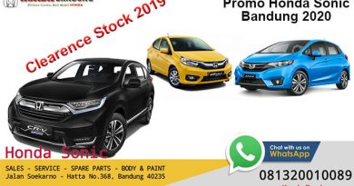 Promo Honda Sonic Bandung 2020