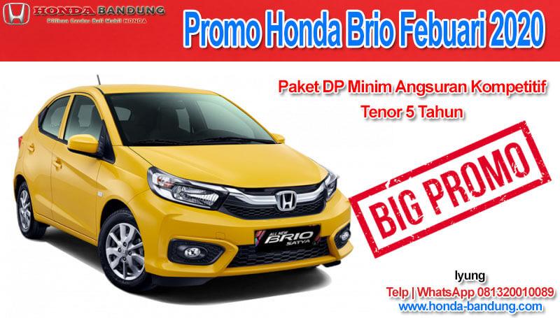 Promo Honda Brio Febuari 2020