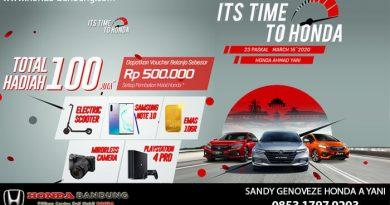 Custumoer Gathering Honda Bandung 2020