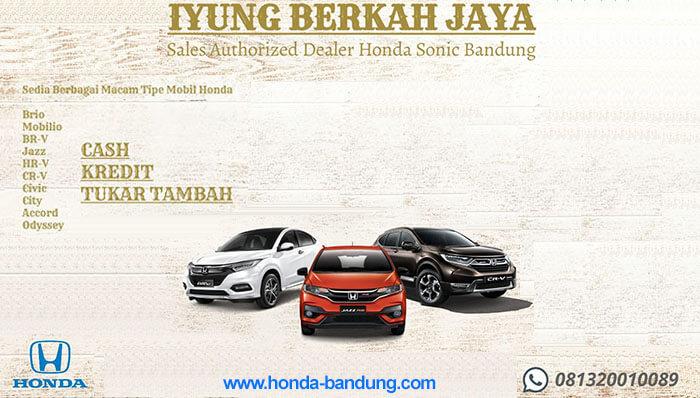 Promo Honda Bandung Maret 2020