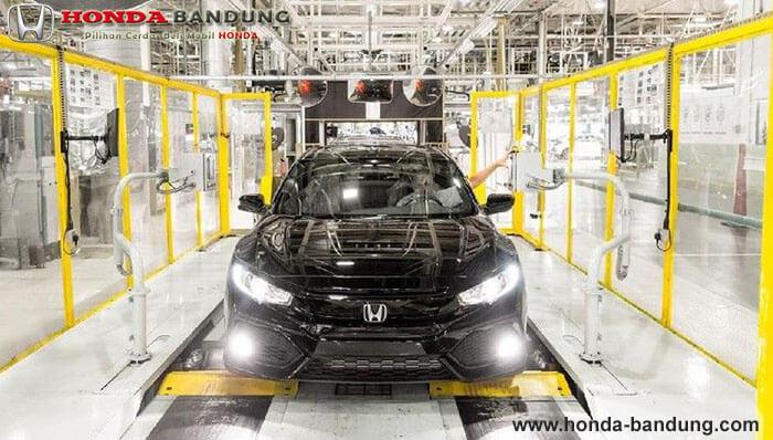 Honda Kerahkan Karyawan Kantor untuk Rakit Mobil Efek dari Kekurangan Karyawan