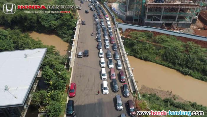 Jamnas Pecinta Honda Mobilio 2019 Cetak Rekor MURI