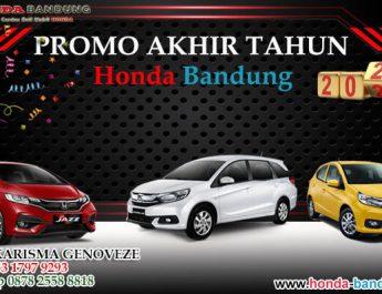 Promo Akhir Tahun Honda Bandung 2020