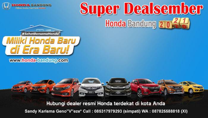 Super Dealsember Honda Bandung