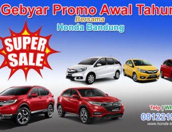 Promo Awal Tahun Bersama Honda Bandung