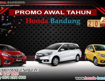 Promo Awal Tahun Honda Bandung 2021