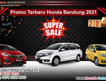 Promo Terbaru Honda Bandung 2021