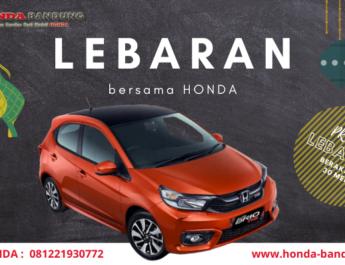 Promo Honda Bandung Lebaran Bersama Brio 2021